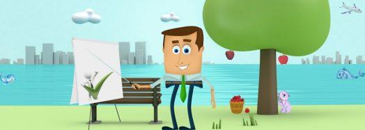Featured image - cartoon videos by Digital Marketing Partner