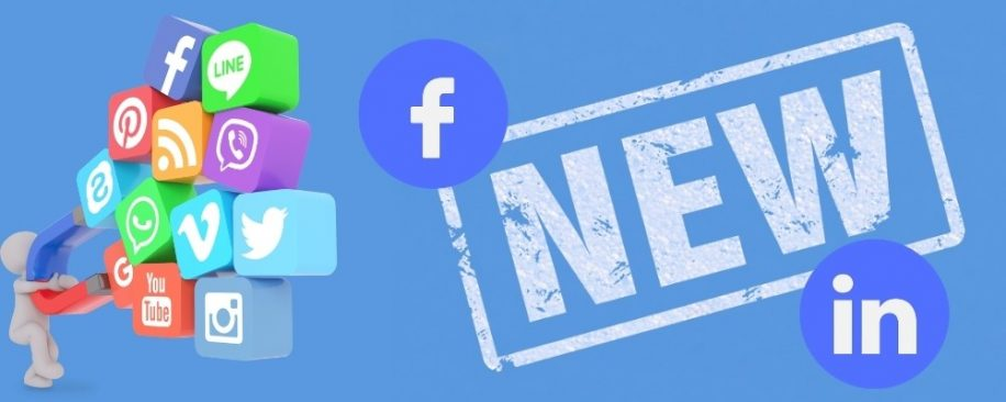 Featured blog image - updates from facebook and LinkedIn