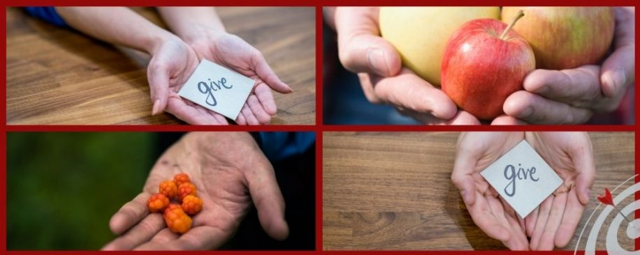 Featured blog image - give then get